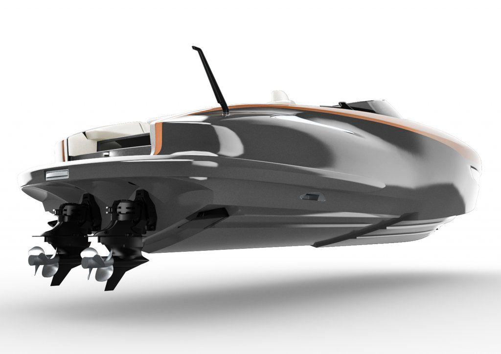 Lexus presenta il prototipo di uno yacht ad alte prestazioni