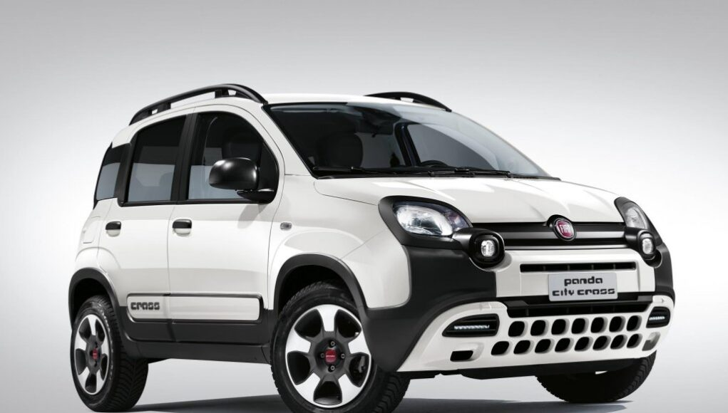 nuova fiat panda city cross motori news. Black Bedroom Furniture Sets. Home Design Ideas