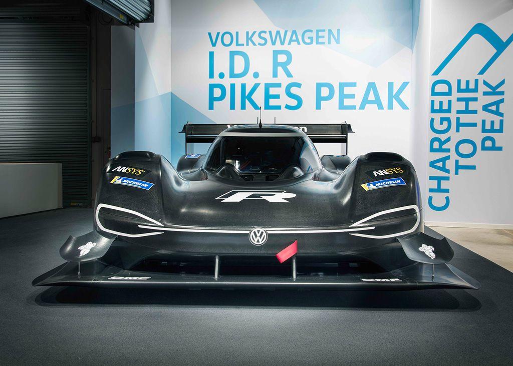 Volkswagen I.D. R Pikes Peak 2018, il bolide per le salite