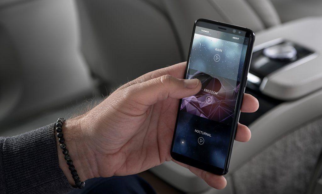 Volvo S90 Ambience Concept: stimoli visivi, sonori ed olfattivi