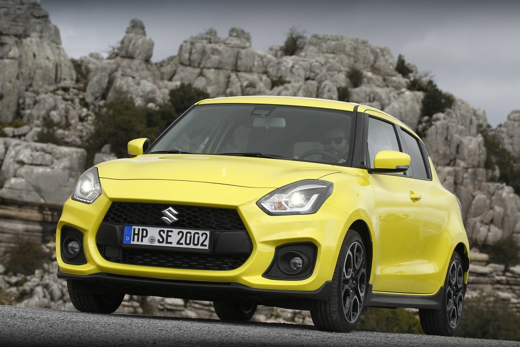 Suzuki Swift Sport: la compatta sportiva debutta in Italia [FOTO E VIDEO]