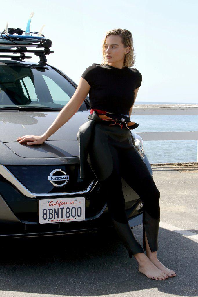 Margot Robbie con Nissan per la sostenibiltà