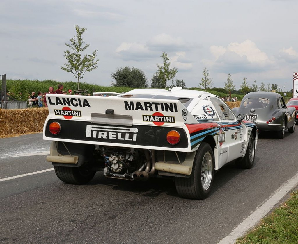 Robert Kubica a Goodwood su Lancia 037 per il Festival of Speed