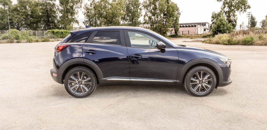 Mazda CX-3 1.5L Skyactive-D Exceed, la prova su strada