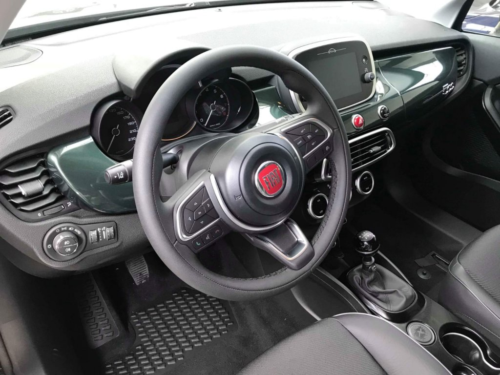 A Preview Of The Interior Of The New Fiat 500x