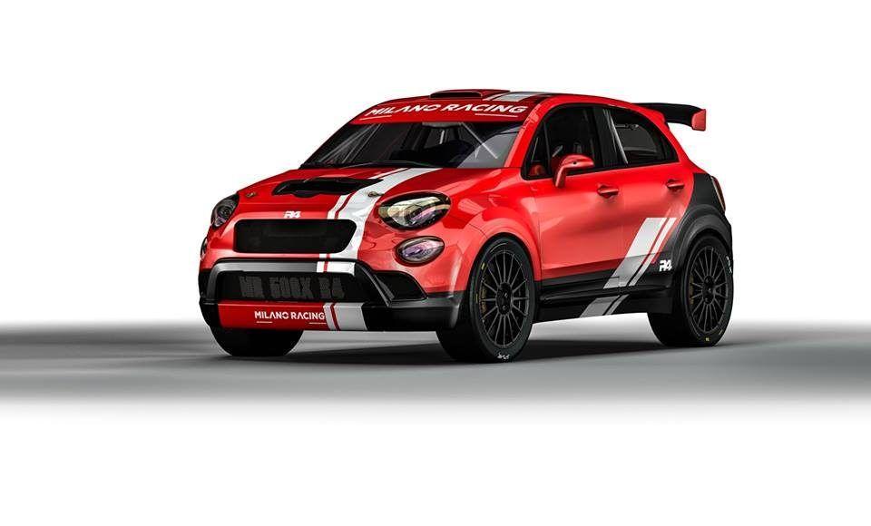 Fiat 500X R4, il suv si dà al rally grazie ad Oreca