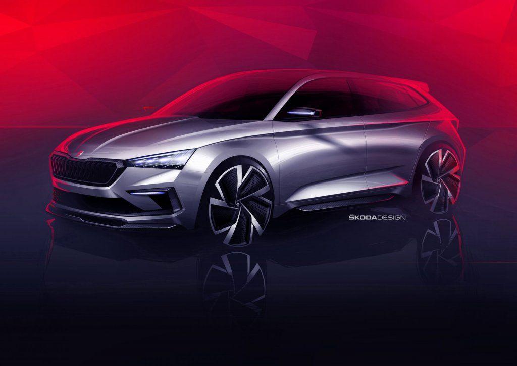 Skoda Vision RS, la concept che anticipa la futura Rapid