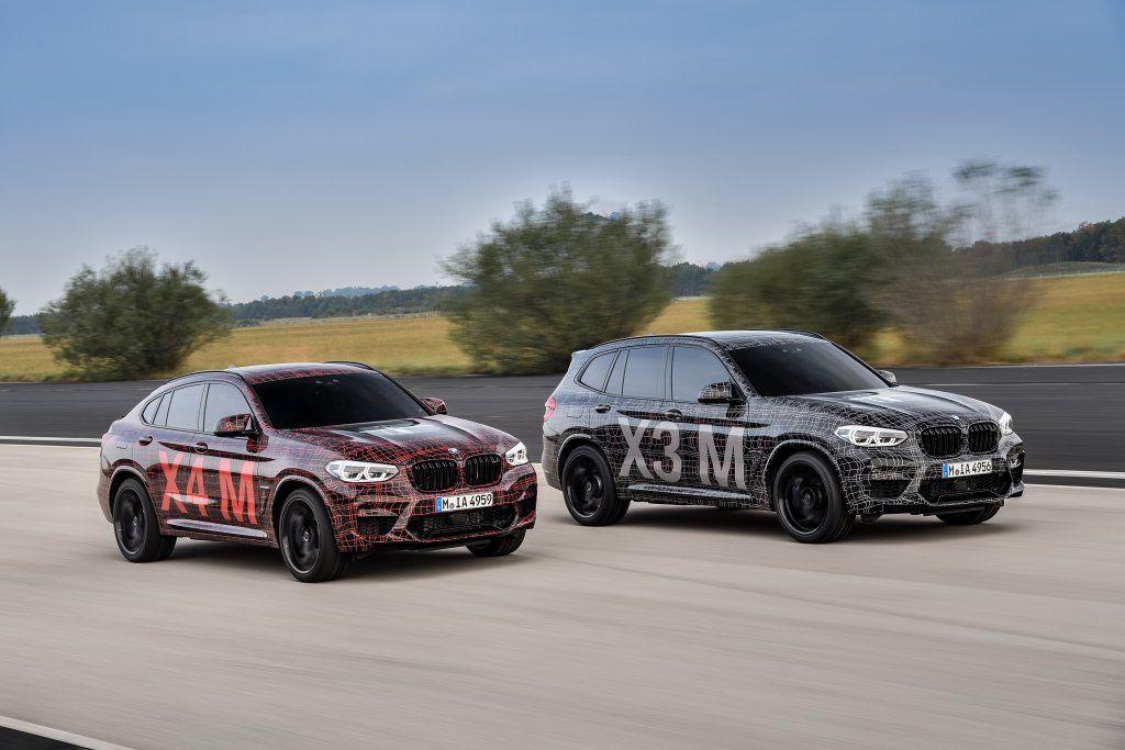 BMW anticipa le nuove X3 e X4 M