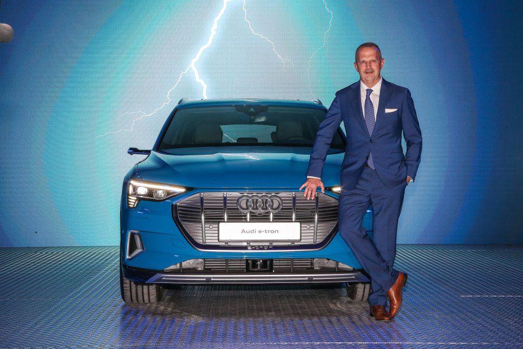 Audi E-Tron presentata al pubblico Italiano