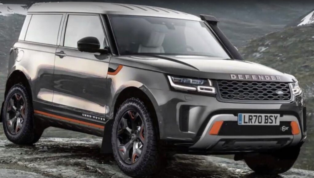 Ford Edge Vignale >> Nuova Land Rover Defender, prima foto spia degli interni ...