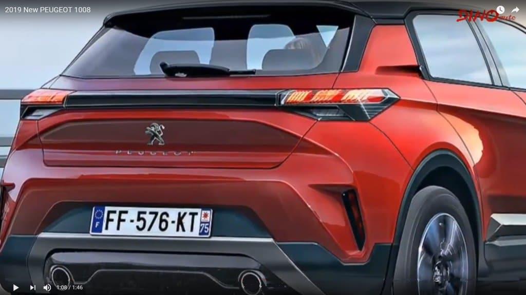 Nuovo suv Peugeot 1008, arriva il crossover compatto