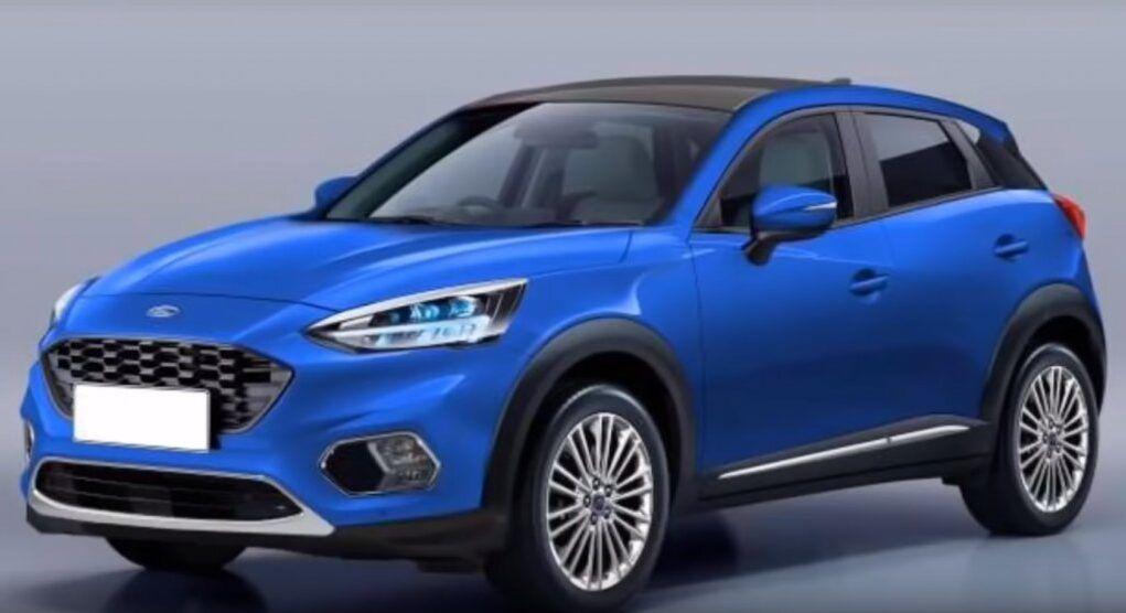 Nuova Ford Fiesta Suv Sostituirà La Ecosport Nel 2020