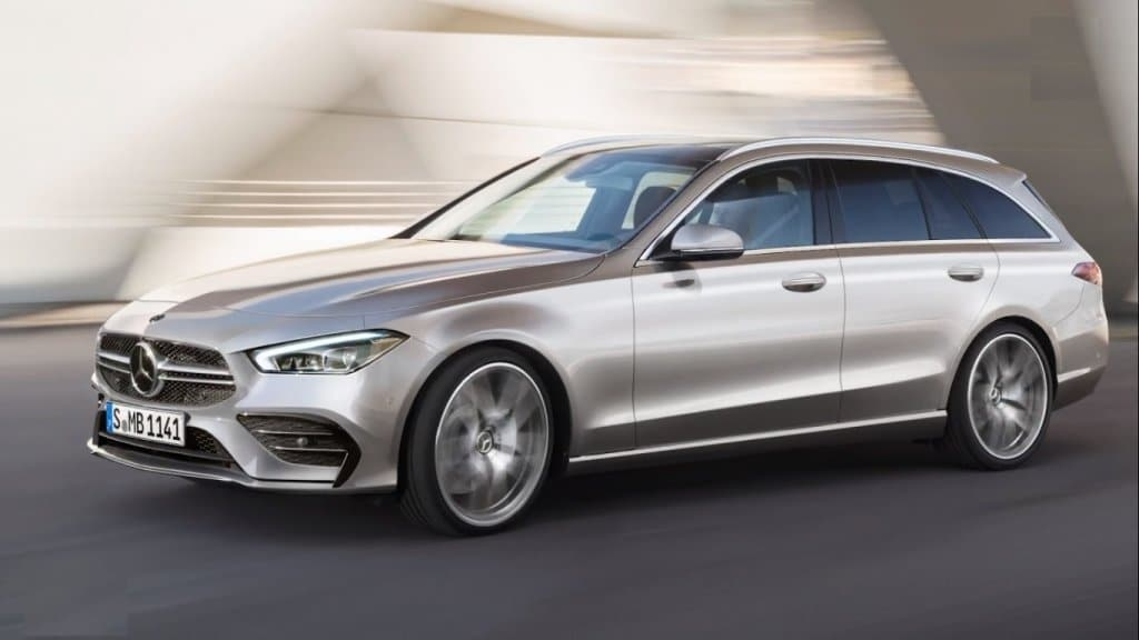 Nuova Mercedes Classe C sw 2020, le foto della famigliare - Motori ...