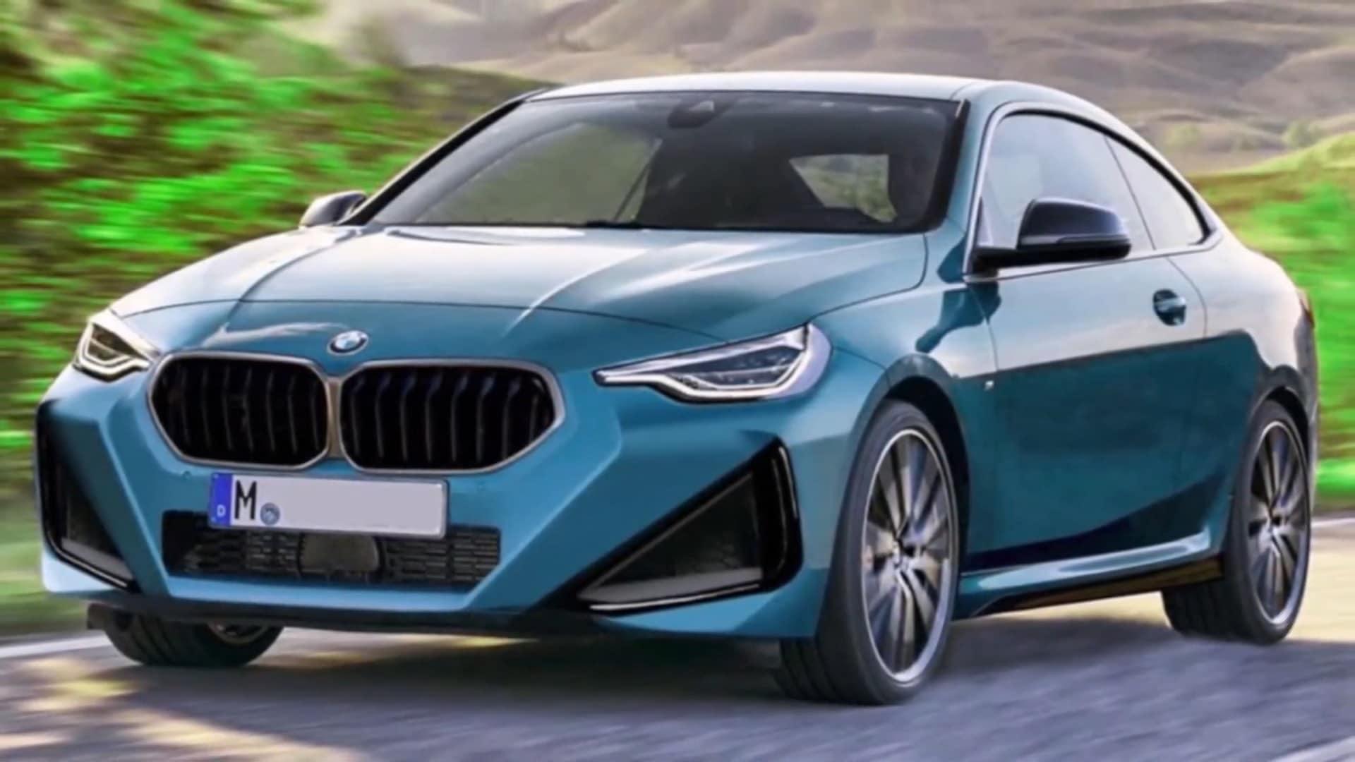 Nuova Bmw Serie 2 2021 Informazioni Foto Spia E Render Motori News